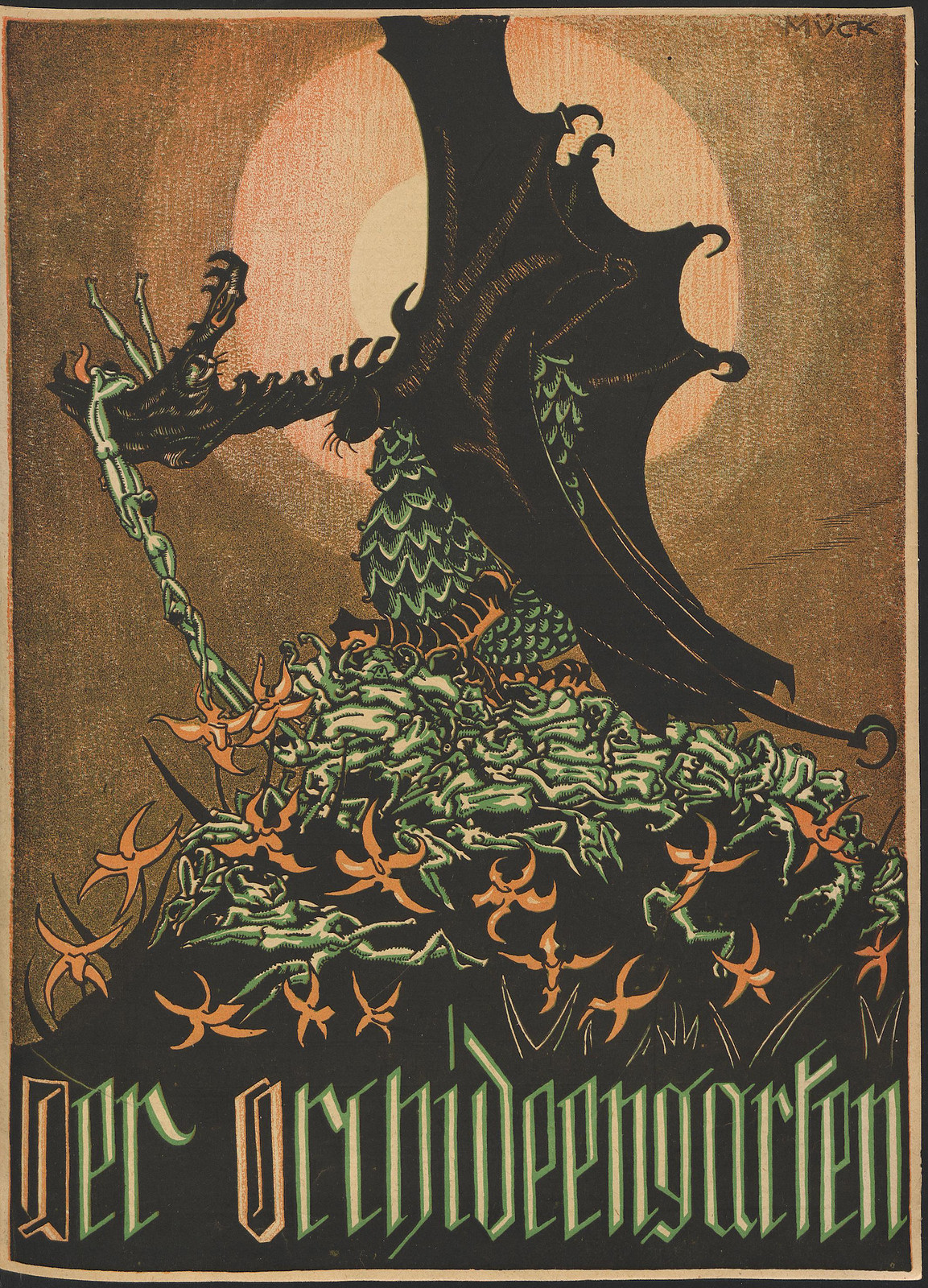 Der Orchideengarten - 1919 (Cover 3)