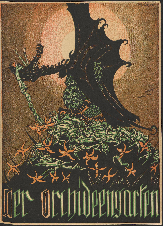 monster brains der orchideengarten 1919 1921. Black Bedroom Furniture Sets. Home Design Ideas