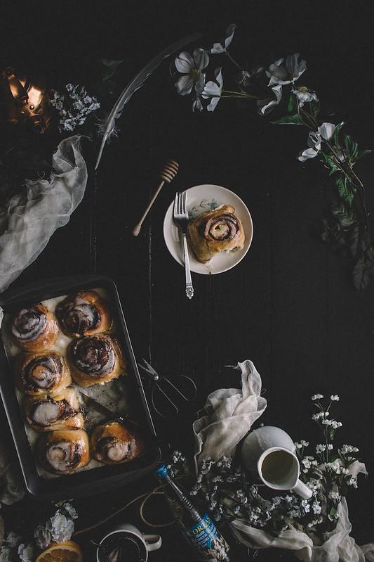 Orange Blossom Honey Buns || TermiNatetor Kitchen