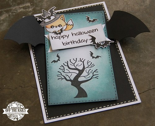 """Happy Halloween Birthday"" Card"