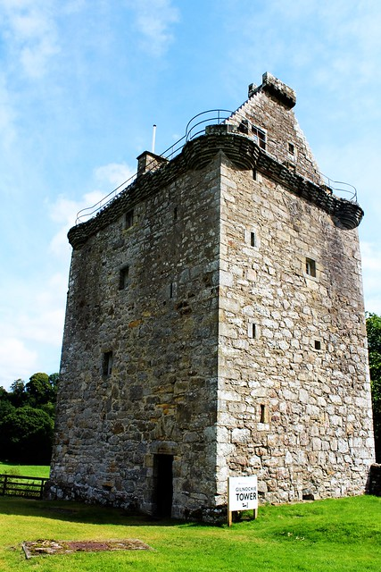 Gilnockie Tower, Canonbie, Scottish Borders