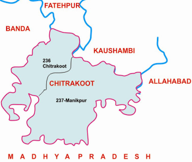 Chitrakoot  district Uttar Pradesh Election 2017