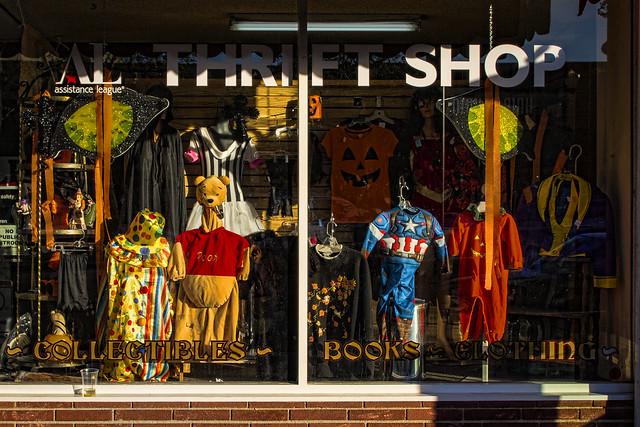 Second Tyme Around Thrift Shop Halloween