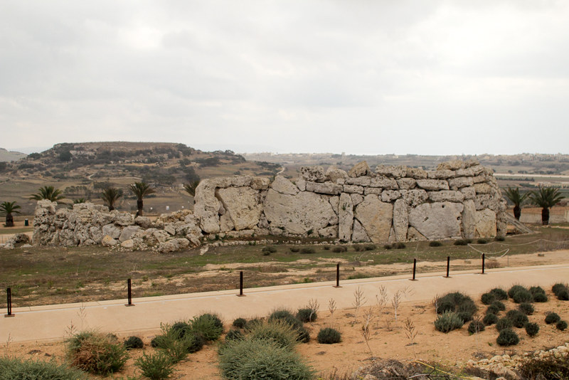 The World In My Pocket - Trip to Gozo - The Ggantija megalithic complex in Gozo