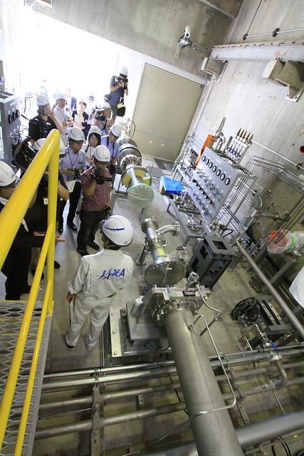 角田試験場報道公開_液酸/液水エンジン供給系試験設備_1015