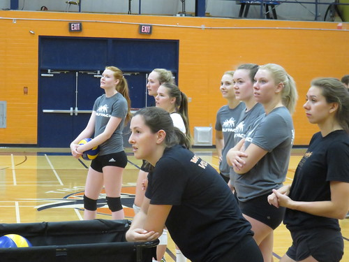 WolfPack Women's Volleyball Improve As Finish Edmonton Tourney With Loss