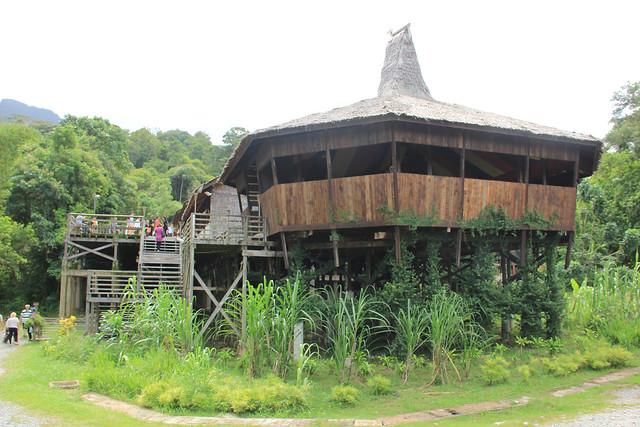 Bidayuh Longhouse