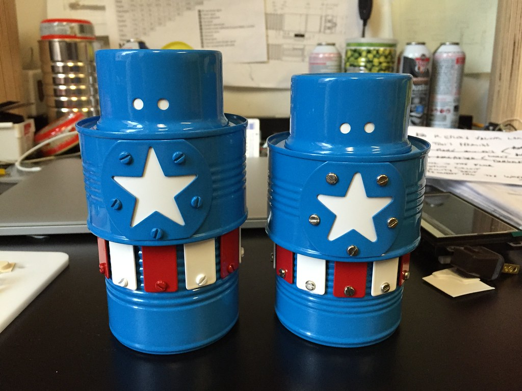 Robot Recipes: Captain America