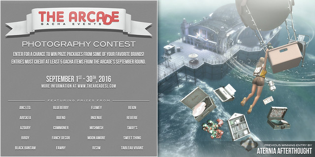 The Arcade Photography Contest - September, 2016