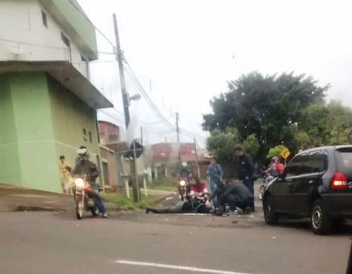 acidente moto maringá