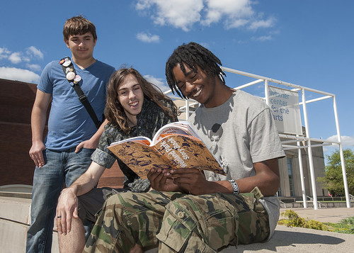 Young people review the Weinland Park Story Book