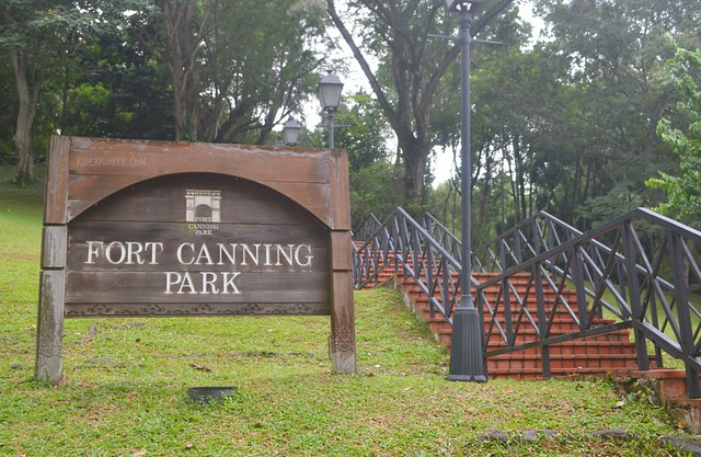 singapore's museum district fort canning