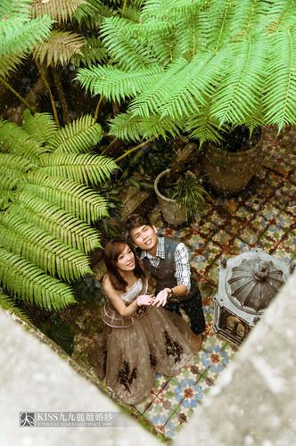 [高雄婚紗推薦]Kiss九九為我和歐爸拍出唯美又韓風的婚紗照 (6)