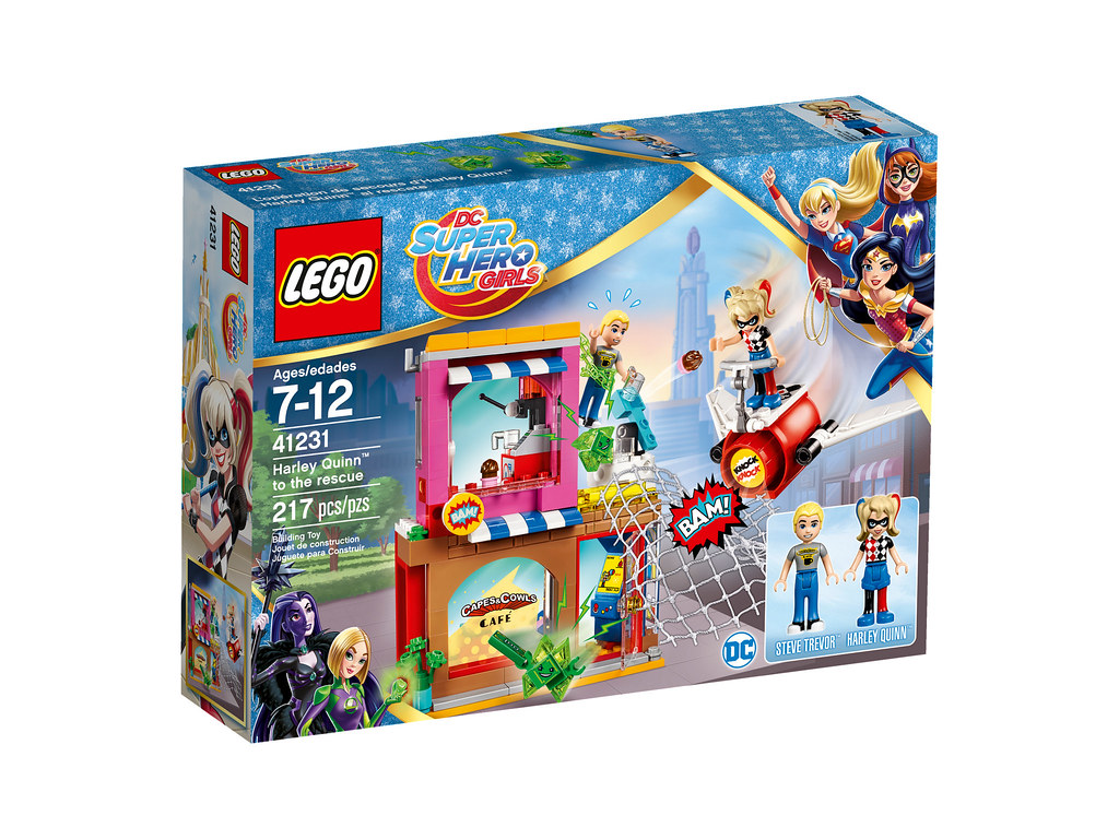 LEGO DC Super Hero Girls 41231 - Harley Quinn to the Rescue