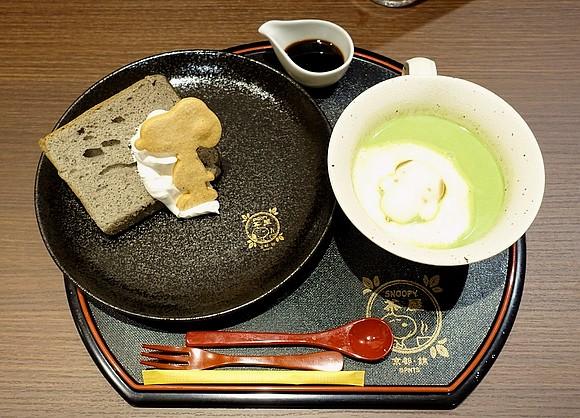 日本史努比茶屋京都必吃錦市場25