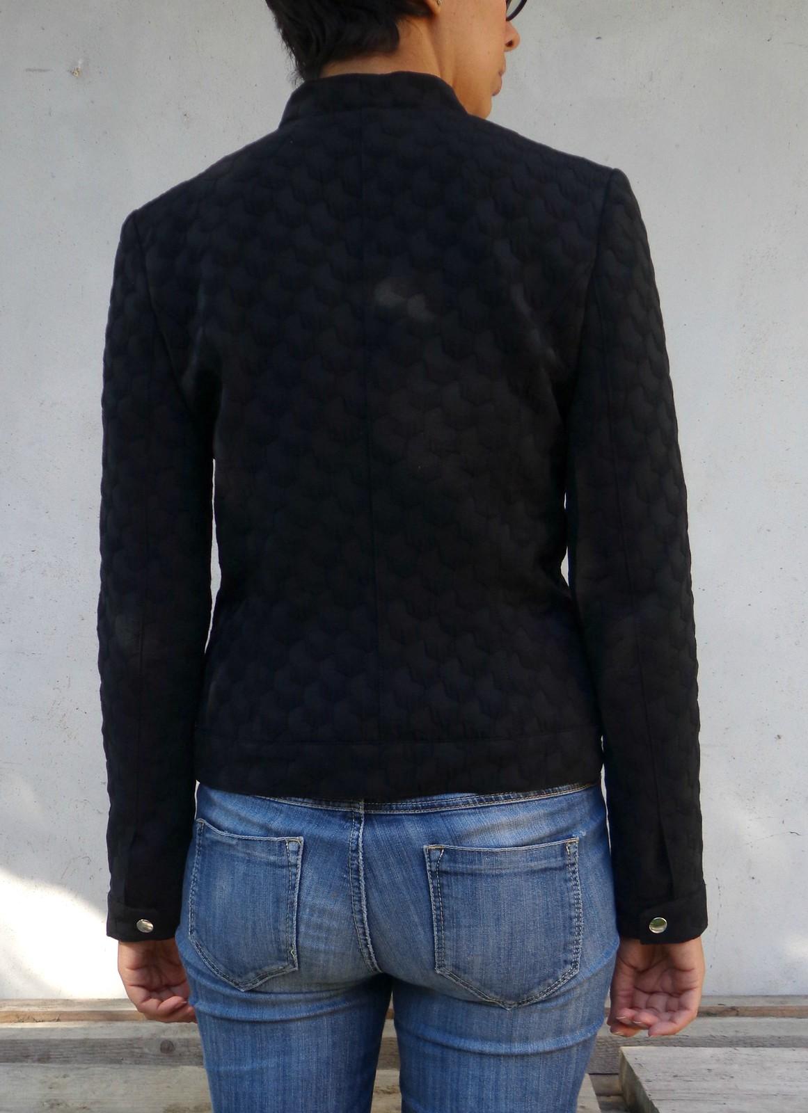 Dietro giacca asimmetrica Burda