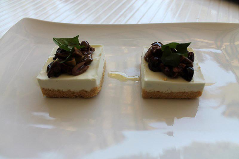 05-Cheesecake salata con burrata e olive taggiasche