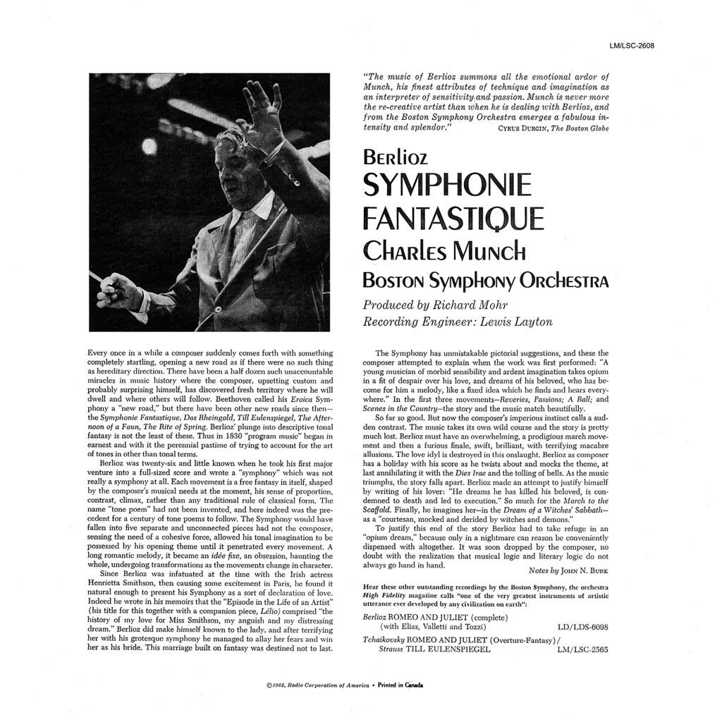 Hector Berlioz - Symphonie Fantastique