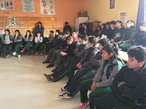 Taller de Integracion de familia al aula:Primeros auxilios 7ºA Y 8º B