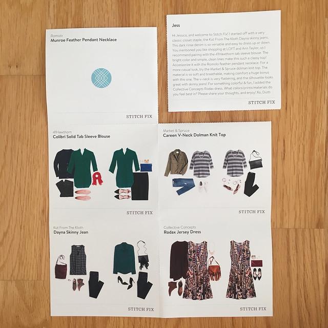 Stitch Fix Style Cards