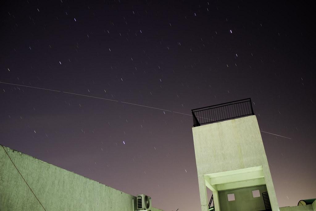 ISS Pass SW Sky