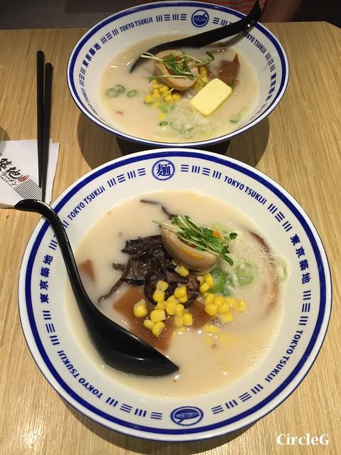 CIRCLEG 遊記 旺角 東京築地拉麵 日本  (7)