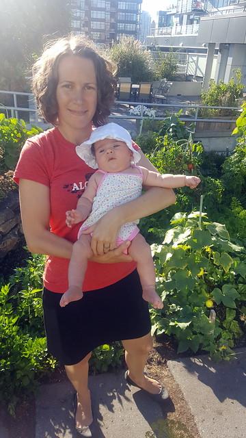 Astrid in the Garden