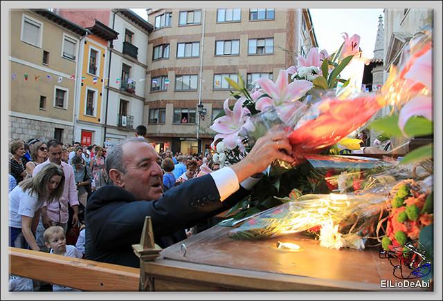 Briviesca Fiestas 2016 Procesión del Rosario y canto popular de la Salve  (15)
