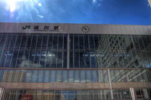 Asahikawa Station on AUG 31, 2016 (7)