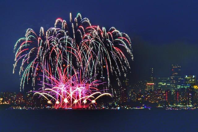 Celebration of Light, English Bay, Vancouver BC   -     Day 3 - Team USA