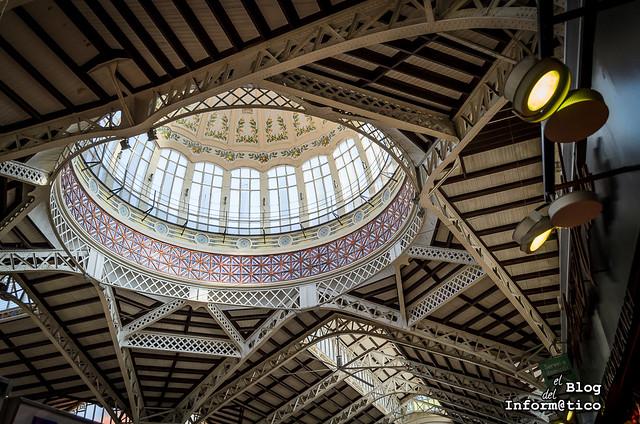 cúpula mercado central valencia