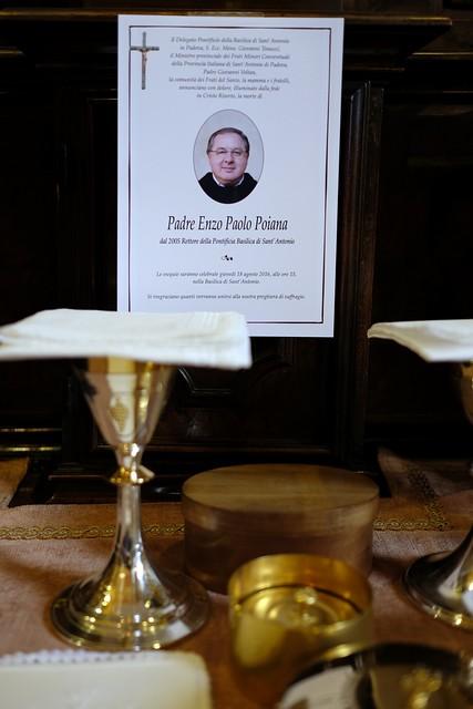 20160918 - Funerale di p. Enzo Paolo Poiana