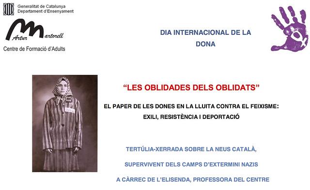 Acte-homenatge pel dia de la dona treballadora (C.P. Brians 1, 2016)