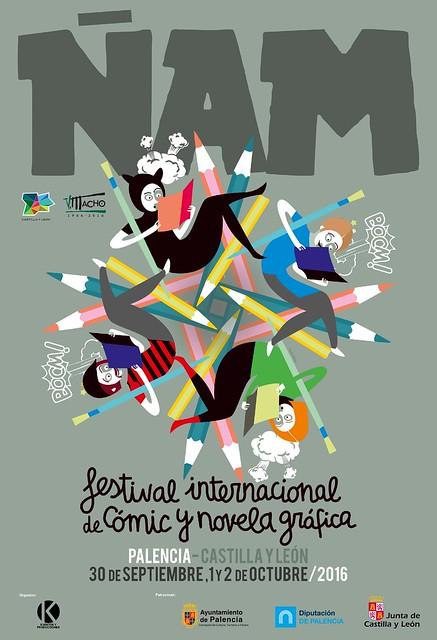 ÑAM Festival Internacional de Cómic y Novela Gráfica.