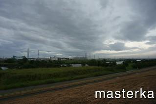 戸田公園の河川敷