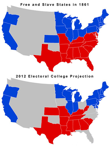 Current Electoral Map Projections, Part Two