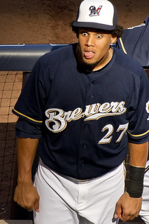 Carlos Gomez - Brewers vs. D-Backs - 7/4/11 | by ryan.kane