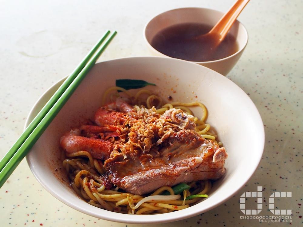 food, min nan pork ribs prawn noodles, min nan prawn noodles, personal, prawn noodles, tiong bahru, tiong bahru hawker centre, tiong bahru market, 抢摊排骨虾面, 排骨虾面, 虾面, food,food review,singapore