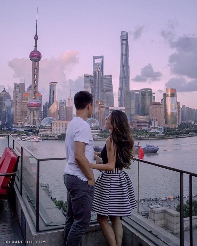 shanghai skyline penninsula hotel rooftop bar