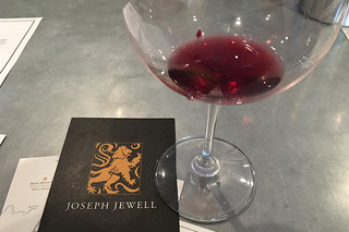 Joseph Jewell Winery - Wine tasting glass