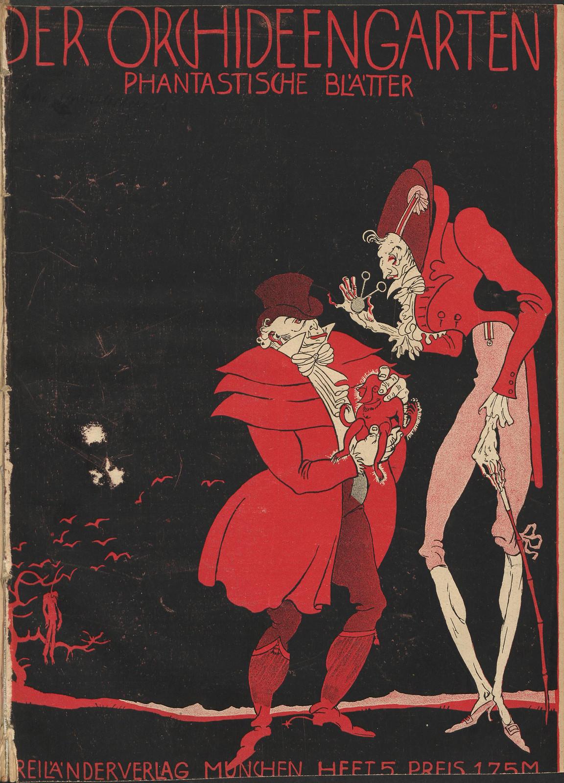 Der Orchideengarten - 1920 (Cover 5)