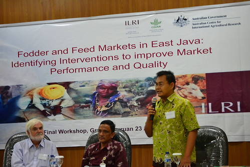 Steve Staal with project partners Kuntoro Boga (standing) and Dicky Pamungkas