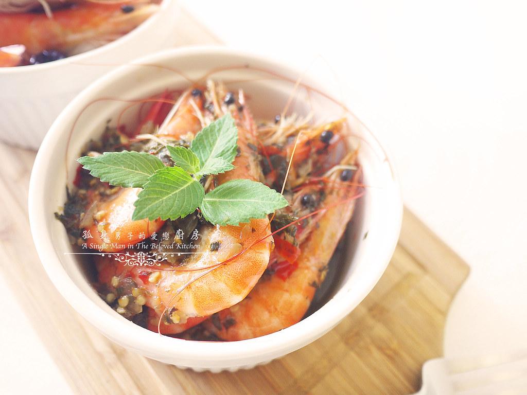 孤身廚房-超乎想像!解凍即食和現煮的一樣好吃—Mess Maker.蝦攪和.冷泡蝦11