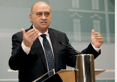 Jorge fern ndez d az ha comparecido en rueda de prensa par for Ministerio del interior cordoba