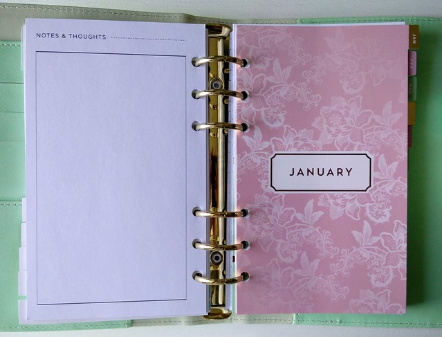 Dividers planner