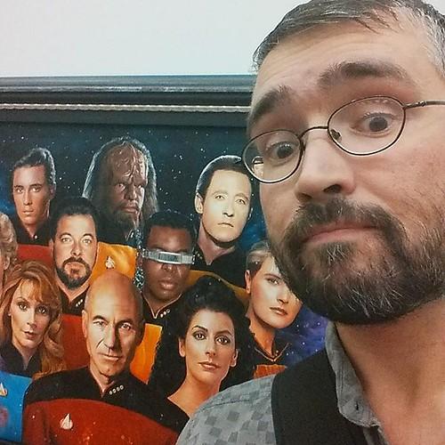 TNG Selfie #toronto #cne #theex #startrek #tng #me #selfie