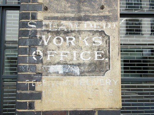 Ghost Sign on Fashion Street in Spitalfields