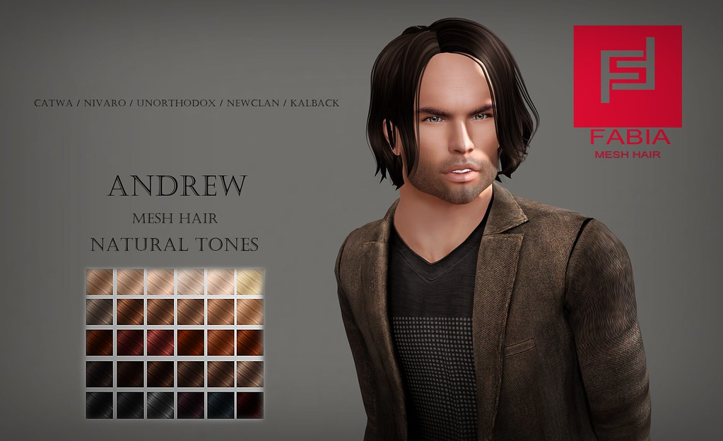 - FABIA - Andrew - Mesh Hair
