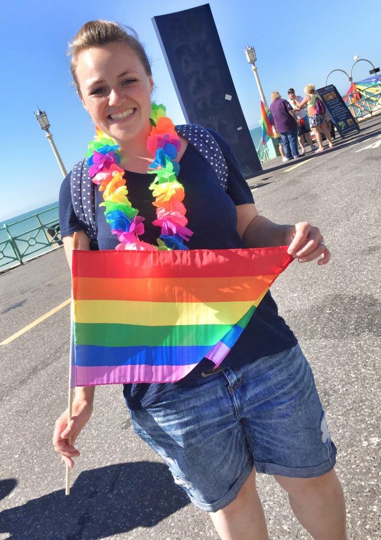 Brighton Pride flag