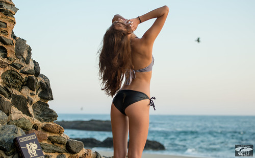 Nikon D800 E Photos of Swimsuit Bikini Model @ Sunset! | by 45SURF Hero's Odyssey Mythology Landscapes & Godde